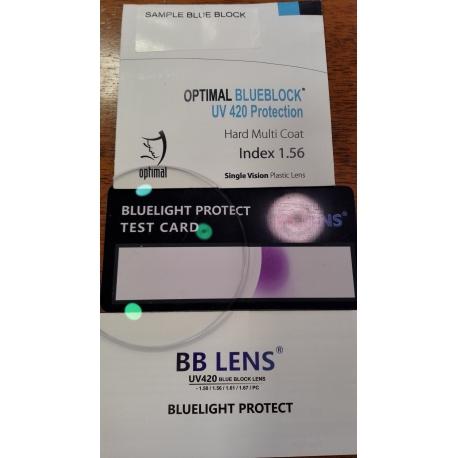 ΦΑΚΟΙ ΟΡΑΣΗΣ BlueBlock UV420 Protection 1,56